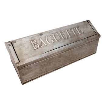 Cynkowy pojemnik na chleb Antic Line Vintage Baguette