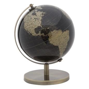 Globus dekoracyjny w brązowej barwie Mauro Ferretti Mappamondo, ⌀ 20 cm
