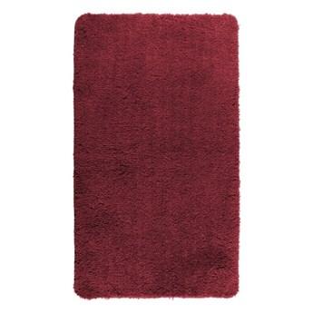Czerwony dywanik łazienkowy Wenko Belize, 55x65 cm