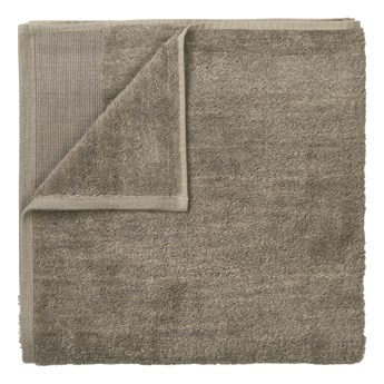 Brązowy bawełniany ręcznik kąpielowy Blomus, 140x70cm