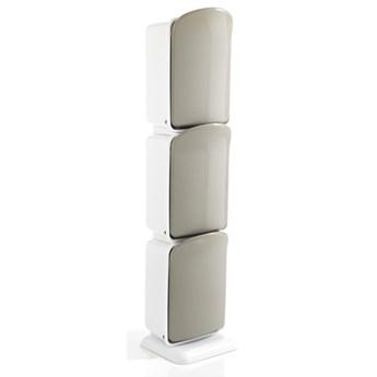 Kosz do recyklingu z 3 przegrodami Tomasucci Riky, wys. 125 cm