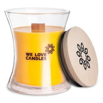Świeczka z wosku sojowego We Love Candles Honeydew, 64 h