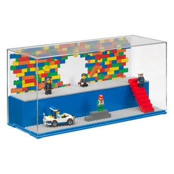 Niebieski pojemnik kolekcjonerski LEGO®