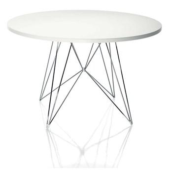 Biały stół Magis Bella, ø 120 cm