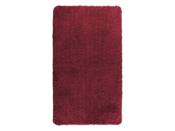 Czerwony dywanik łazienkowy Wenko Belize, 90x60 cm