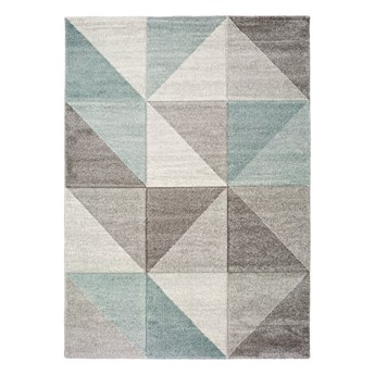 Niebiesko-szary dywan Universal Retudo Naia, 160x230 cm