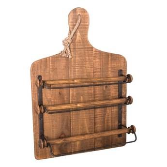 Drewniany uchwyt na folie kuchenne Antic Line