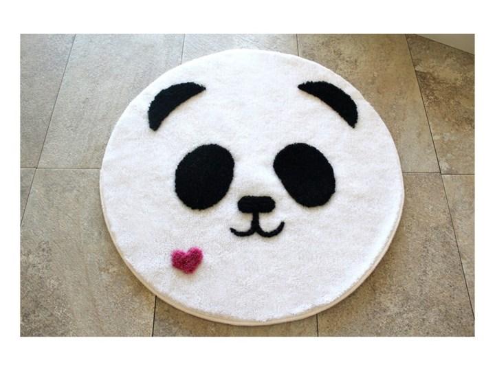 Dywanik łazienkowy z motywem misia pandy Alessia, Ø 90 cm