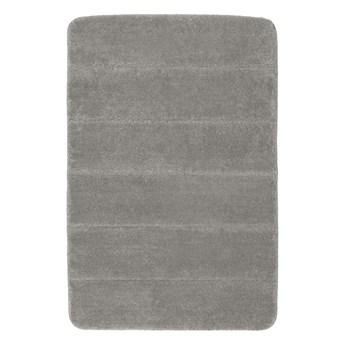Jasnoszary dywanik łazienkowy Wenko Steps, 60x90 cm