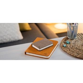 Ciemnobrązowa lampka stołowa LED w kształcie książki Gingko Booklight