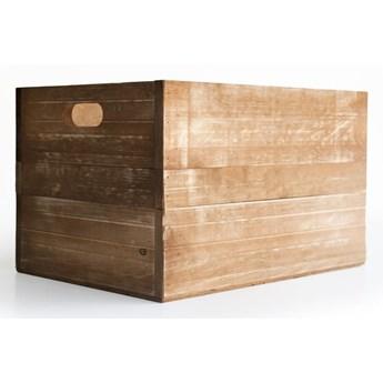 Skrzynka z drewna sosnowego Really Nice Things, brązowa