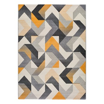 Pomarańczowo-szary dywan Universal Gladys Abstract, 80x150 cm