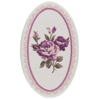 Dywanik łazienkowy Confetti Bathmats Rosa, 80x130 cm