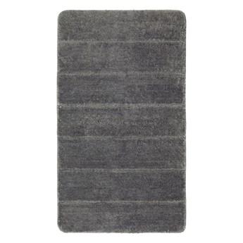Ciemnoszary dywanik łazienkowy Wenko Steps, 120x70 cm
