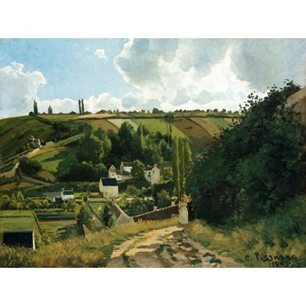 Reprodukcja obrazu Camille'a Pissarra – Jalais Hill Pontoise, 80x60 cm