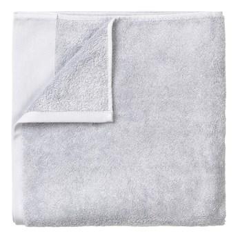 Jasnoszary brązowy bawełniany ręcznik kąpielowy Blomus, 100x200 cm
