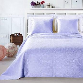 Jasnofioletowy komplet na łóżko z mikrowłókna DecoKing Elodie, 240x260 cm