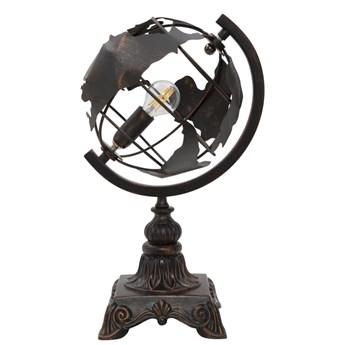 Czarna stołowa lampa industrialna Mauro Ferretti World