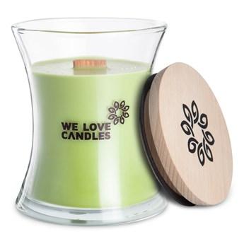 Świeczka z wosku sojowego We Love Candles Green Tea, 64 h