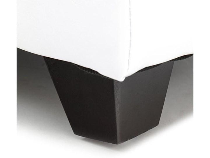 Biała ławka ze schowkiem Tomasucci Nice Skrzynia Pikowana Materiał obicia Skóra ekologiczna