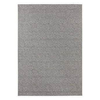 Szary dywan odpowiedni na zewnątrz Elle Decoration Bloom Croix, 80x150 cm