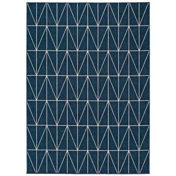 Niebieski dywan odpowiedni na zewnątrz Universal Nicol Blue Casseto, 80x150 cm