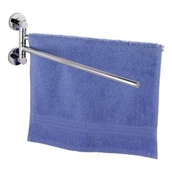 Samoprzyczepny wieszak na ręczniki Wenko Power-Loc Elegance
