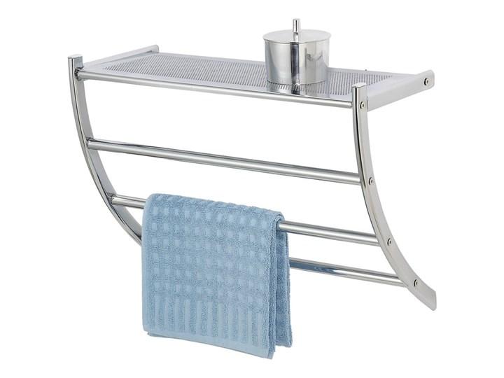 Ścienny wieszak na ręczniki Wenko Pescara Potrójny Stal Wieszaki na ręczniki Kategoria Wieszaki i uchwyty łazienkowe