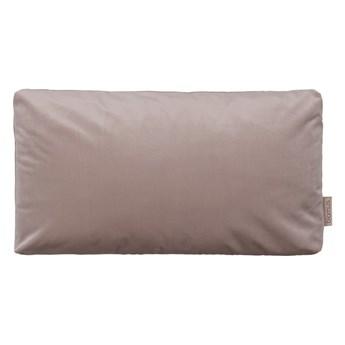 Ciemnoróżowa poszewka na poduszkę z efektem aksamitu Blomus, 50x30cm