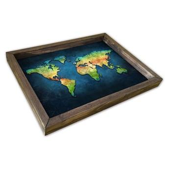 Taca drewniana Pierre, 30x40 cm