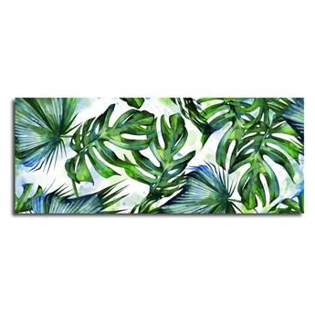 Obraz Styler Canvas Greenery Tropical, 60x150 cm