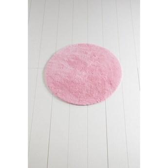 Różowy dywanik łazienkowy Colors of Cap, ⌀ 90 cm