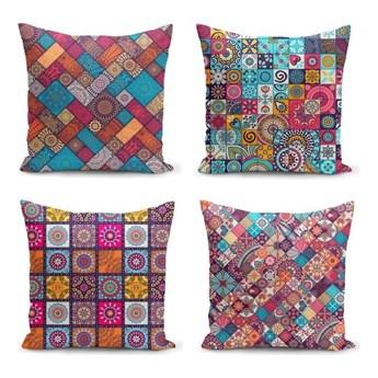 Zestaw 4 poszewek na poduszkę Minimalist Cushion Covers Fearie, 45x45 cm