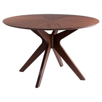 Stół w dekorze drewna orzechowego sømcasa Carmel, ⌀ 120 cm