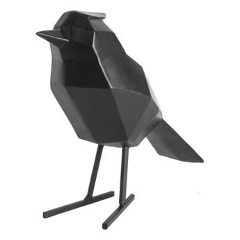 Czarna figurka dekoracyjna w kształcie ptaszka PT LIVING Bird Large Statue