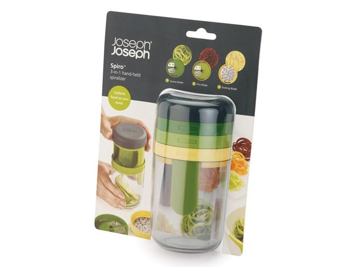 Spiralizer do warzyw Joseph Joseph Spiro Stal nierdzewna Tworzywo sztuczne Kolor Zielony Zestaw do przypraw Kategoria Przyprawniki
