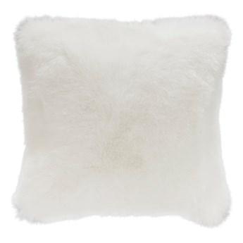 Biała poduszka ze sztucznej skóry Mint Rugs Soft, 43x43 cm
