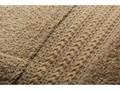 Zestaw 4 brązowych bawełnianych ręczników Rainbow Home, 50x90 cm Bawełna Łazienkowe Frotte Kategoria Ręczniki Komplet ręczników Ręcznik kąpielowy Kolor Beżowy
