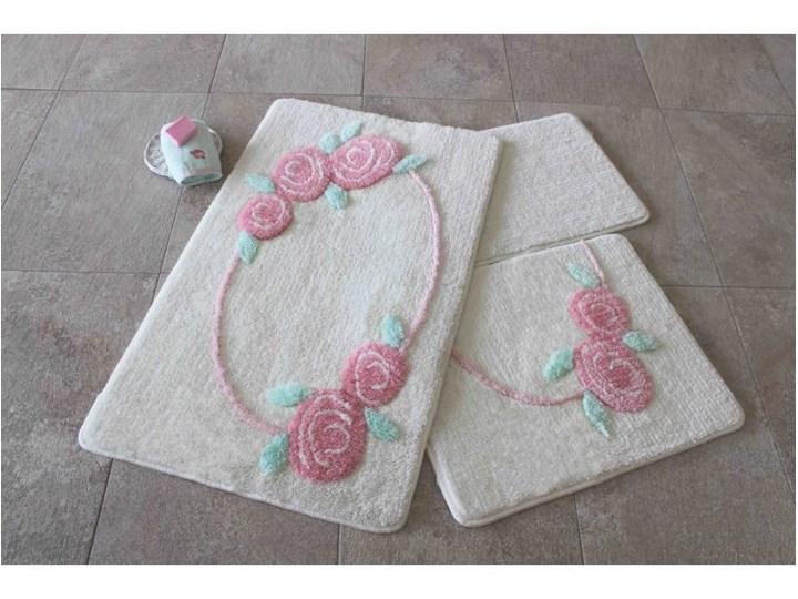 Komplet 3 dywaników łazienkowych Bliss