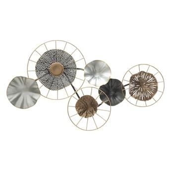Metalowa dekoracja wisząca Mauro Ferretti Grid, 65x36 cm