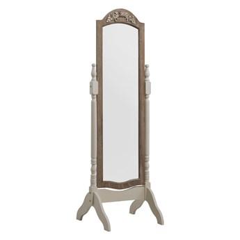Białe lustro stojące Geese Vintage