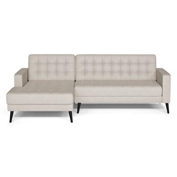 Kremowa sofa Prêt à Meubler Classics Boston, lewostronna