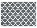 Szara wycieraczka Hans Home Elegance, 50x70 cm Tworzywo sztuczne Kolor Biały