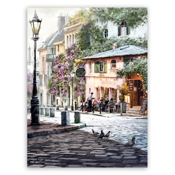 Obraz Styler Canvas Summer Corner, 60x80 cm