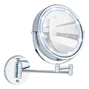 Kosmetyczne lusterko ścienne z oświetleniem i powiększeniem LED Wenko Lumi