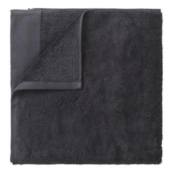 Ciemnoszary bawełniany ręcznik Blomus, 50x100 cm