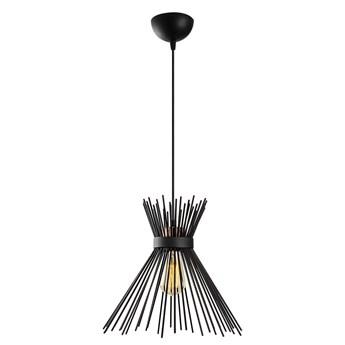 Czarna metalowa lampa wisząca Opviq lights Rosalia
