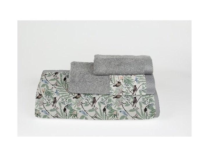 Komplet 3 ręczników z bawełny i mikrowłókna Surdic Tropical Parrots Bawełna Młodzieżowe 30x50 cm Łazienkowe Komplet ręczników 70x140 cm 50x100 cm Kategoria Ręczniki