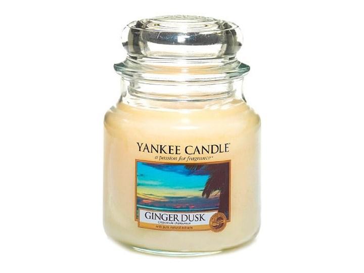 Świeca zapachowa Yankee Candle Imbirowy Zmierzch, czas palenia 65–90 godzin