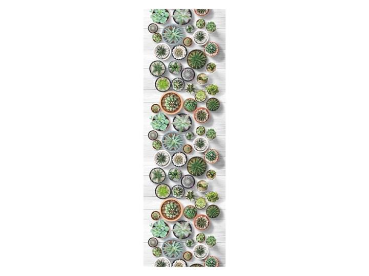 Chodnik Floorita Cactus, 58x240 cm Poliester Prostokątny Dywany Syntetyk Chodniki Bawełna Pomieszczenie Kuchnia